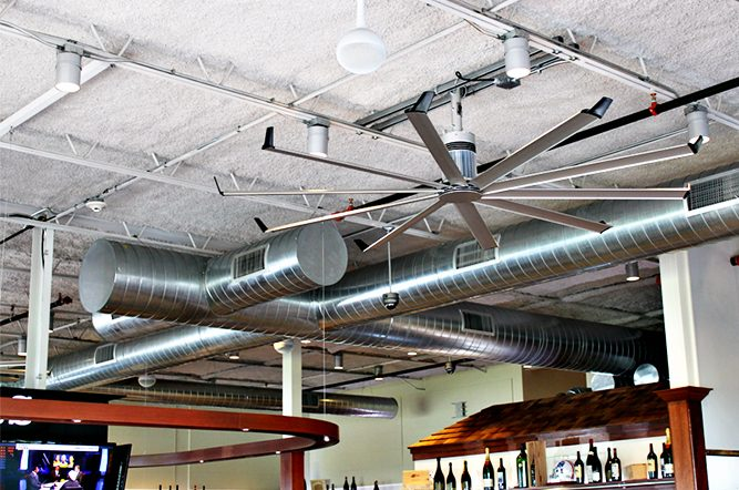 Spiral Duct System Install