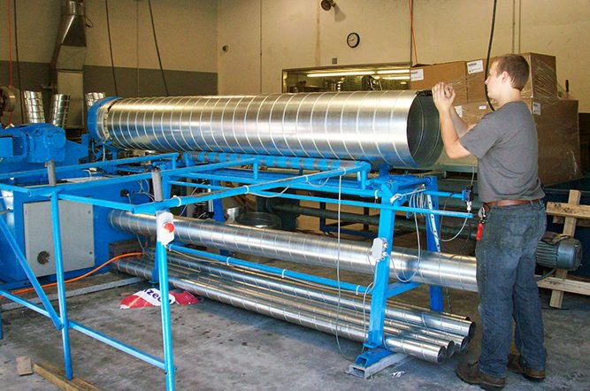 Spiral Duct Fabrication