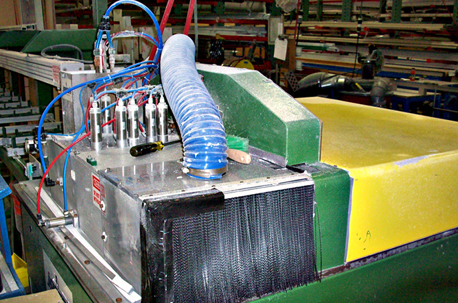 Interior Dust Collection System Macy Industries Inc