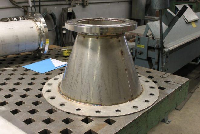 custom metal fabrication job