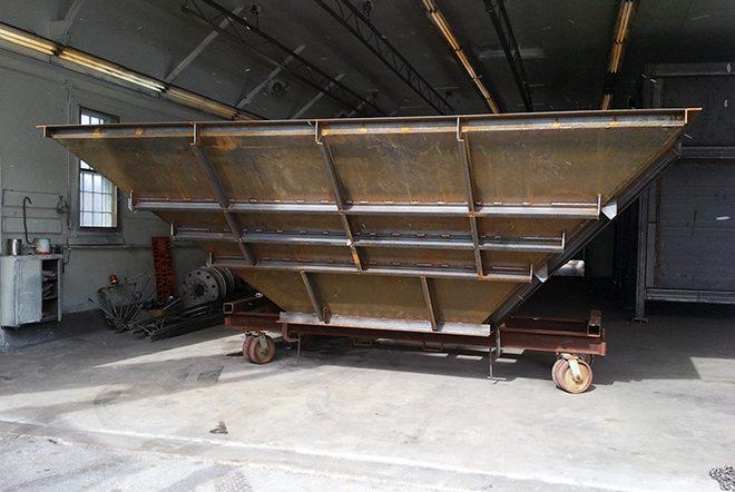 metal fabrication job
