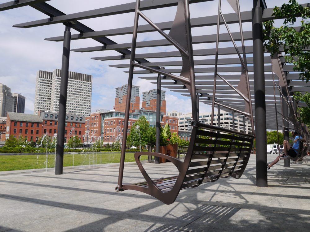 custom metal solutions | rose kennedy greenway boston