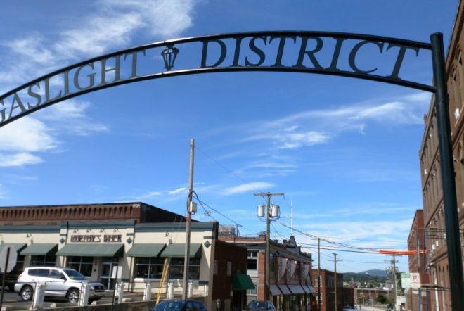 Gaslight District Archway
