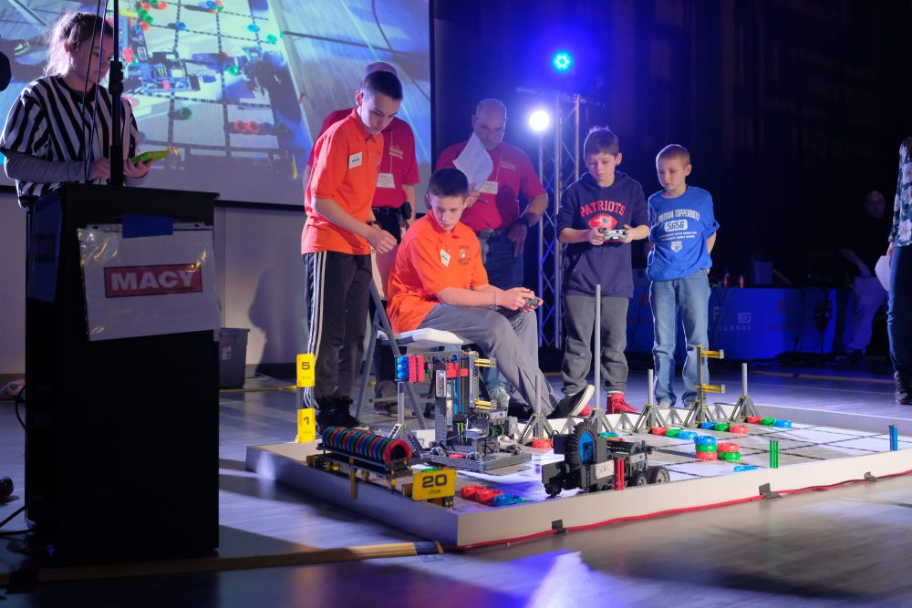 macy robotics competition | metal experts